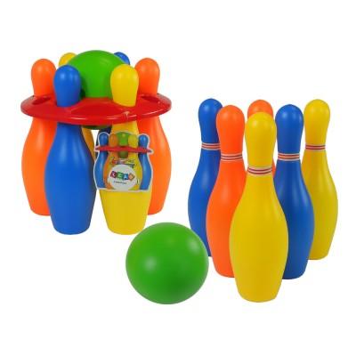 Farebná bowlingová sada - 6 koliek