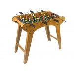 Veľký drevený futbalový stôl