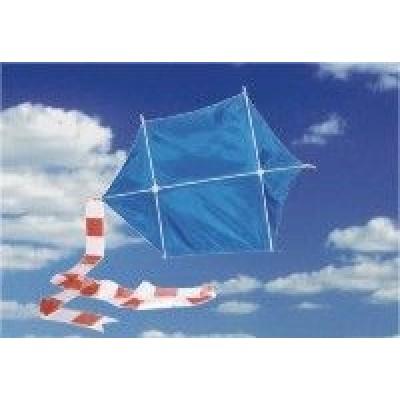 Lietajúci šarkan 95 cm modrý