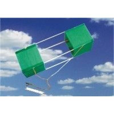 Boxový šarkan Romb-2 102 cm zelený