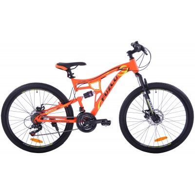 "Horský Bicykel 26"" Fuzlu Perfect Power 2xT Oranžovo-žltý"