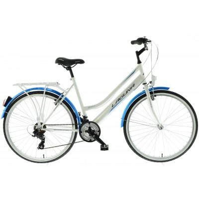 """Retro Bicykel 26 KANDS Laguna VS-3 KZW Tourney 17"""" Bielo-modrý"""