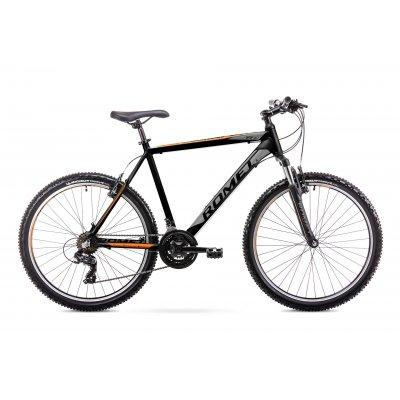 "Horský Bicykel 26 Romet Rambler R6.1 17"" Čierno-oranžový"