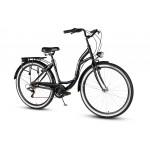 Mestský bicykel 26 Vellberg Havana TY-300 7-prevodový Čierny