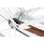 """Bicykel VELLBERG ECO 28"""" 1 prevodový Bielo-hnedý"""