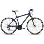 Krossový Bicykel 28 Kross Evado 1.0 M Modro-limetkový matný
