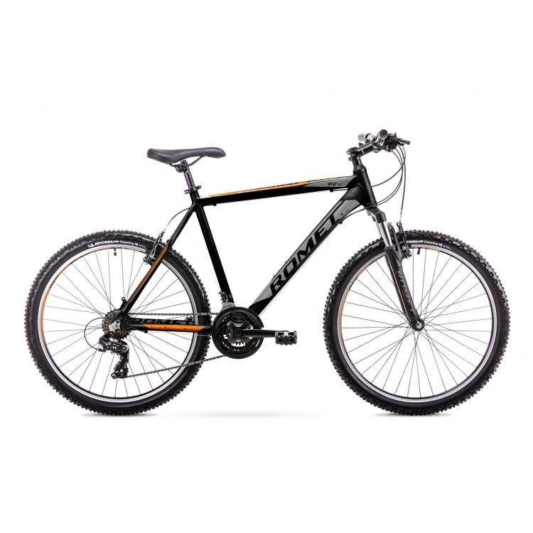"Horský Bicykel Romet Rambler 26"" R6.1 TY300 M Čierno-oranžový"