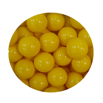 Loptičky do suchých bazénov Golden kids 100 ks - žlté
